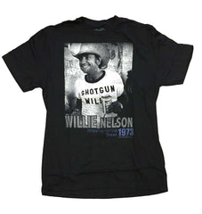 Willie Nelson Texas 1973 T-Shirt - Skulltimate
