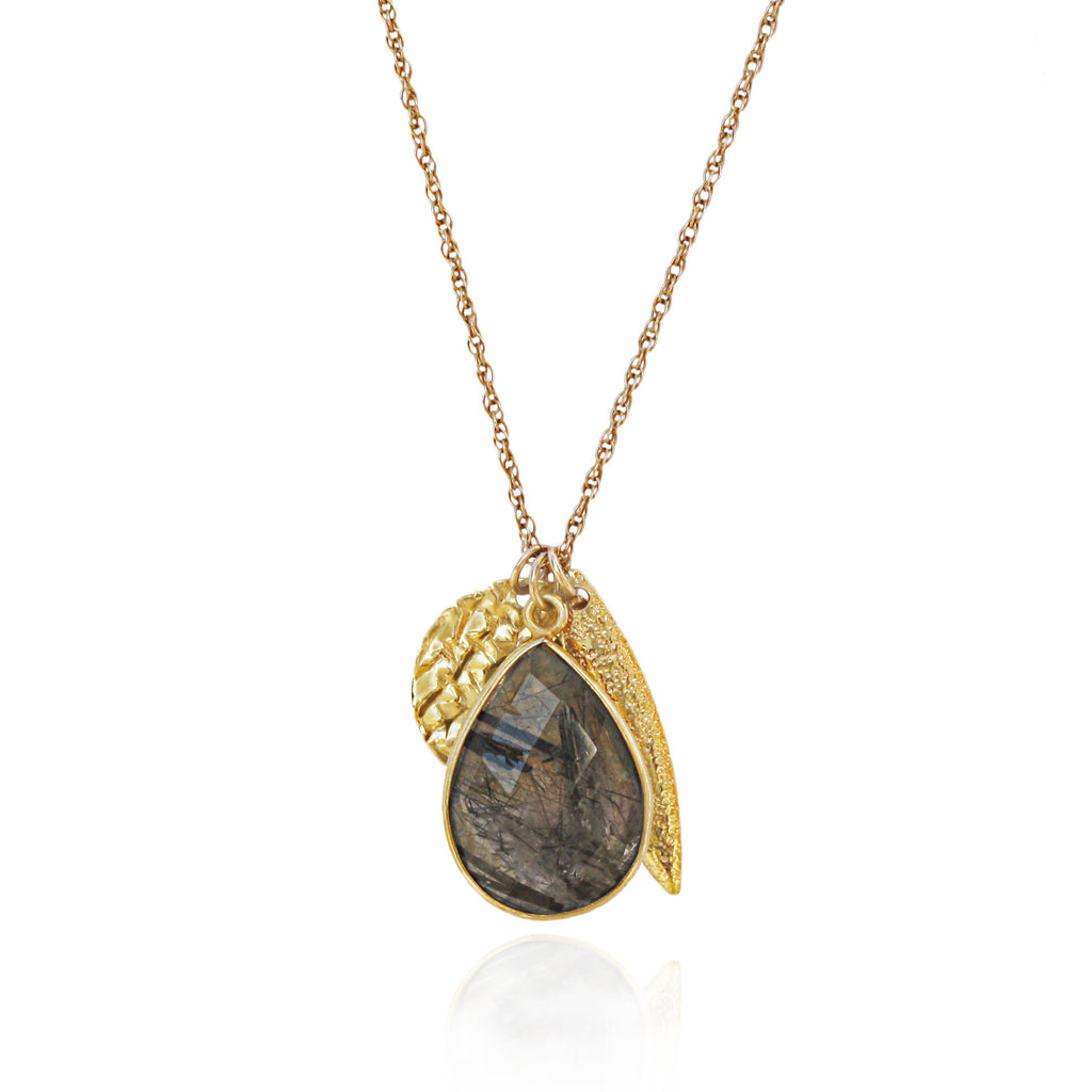 Limited Edition Rutilated Quartz Charm Necklace