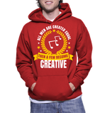 All Men Are Created Eqaul Then A Few Become Creative Hoodie