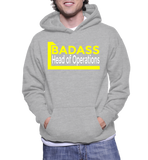 Badass Head Of Operations Hoodie
