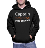 Captain The Man, The Myth, The Legend Hoodie