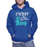 Cyclist A Title Just Above King Hoodie