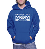 Firefighter's Mom I Raised An American Hero Hoodie