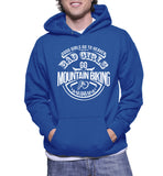 Good Girls Go To Heaven Bad Girls Go Mountain Biking Hoodie