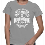 Good Girls Go To Heaven Bad Girls Go Mountain Biking T-Shirt
