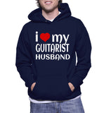 I Love My Guitarist Husband Hoodie