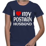 I Love My Postman Husband T-Shirt