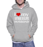 I Love My Software Developer Husband Hoodie