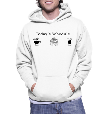 Today's Schedule (Tour Guide) Hoodie