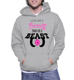 Look Like A Beauty Train Like A Beast Hoodie