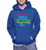 My Daddy Is A Fireman What Super Power Does Your Daddy Have? Hoodie