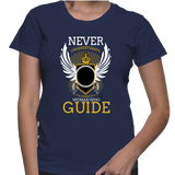 Never Underestimate The Power Of A Woman Who Guide T-Shirt
