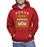 Proud Irish Firefighters Mom Hoodie