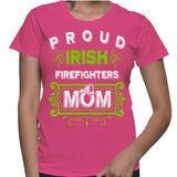 Proud Irish Firefighters Mom T-Shirt