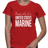 Proud Wife Of A United States Marine T-Shirt