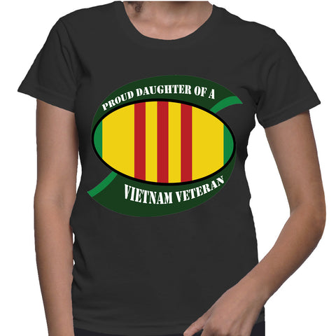 Proud Daughter Of A Vietnam Veteran T-Shirt