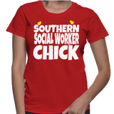 Southern Social Worker Chick T-Shirt
