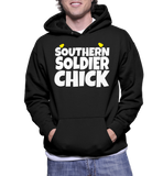 Southern Soldier Chick Hoodie