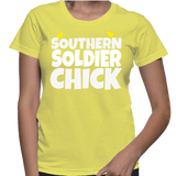 Southern Soldier Chick T-Shirt