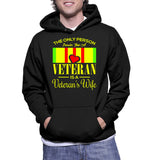 The Only Person Prouder Than A Veteran Is A Veteran's Wife Hoodie