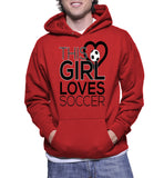 This Girl Loves Soccer Hoodie