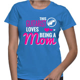 This Guitarist Loves Being A Mom T-Shirt