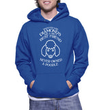 Whoever Said Diamonds Are A Girl's Best Friend Never Owned A Poodle Hoodie