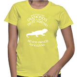 Whoever Said Diamonds Are A Girl's Best Friend Never Owned An Iguana T-Shirt