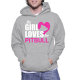 This Girl Loves Her Pitbull Hoodie
