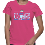 This Girl Loves Cruising With Her Husband T-Shirt