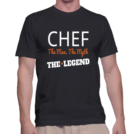Chef The Man, The Myth, The Legend T-Shirt