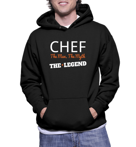 Chef The Man, The Myth, The Legend Hoodie