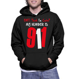 EMT: Think I'm Cute? My Number Is 911 Hoodie