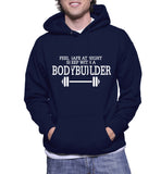Feel Safe At Night Sleep With A Bodybuilder Hoodie