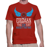 Fireman Not Born Cynical The Job Just Makes It That Way T-Shirt