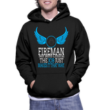 Fireman Not Born Cynical The Job Just Makes It That Way Hoodie