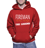 Fireman The Man, The Myth, The Legend Hoodie