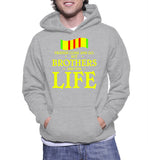 Friends Come And Go But Brothers Are For Life Hoodie