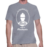 Get Your Wheels Oiled Sleep With A Mechanic T-Shirt