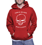 Good Biker Bad Laws Hoodie