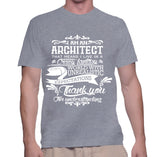 I Am An Architect That Means I Live In A Crazy Fantasy T-Shirt