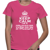 I Can't Keep Calm I'm A Software Developer T-Shirt