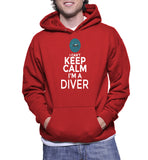 I Can't Keep Calm I'm A Diver Hoodie