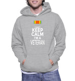 I Can't Keep Calm I'm A Veteran Hoodie