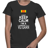 I Can't Keep Calm I'm A Veteran T-Shirt