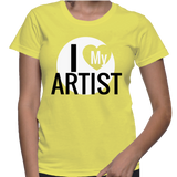 I Love My Artist T-Shirt