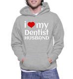 I Love My Dentist Husband Hoodie