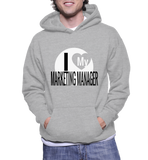 I Love My Marketing Manager Hoodie
