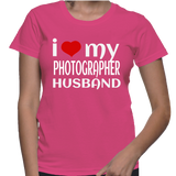I Love My Photographer Husband T-Shirt
