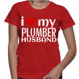 I Love My Plumber Husband T-Shirt